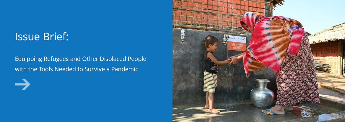 Equipping Refugees and Other Displaced People with the Tools Needed to Survive a Pandemic
