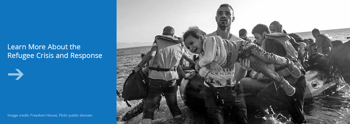 Learn more about the refugee crisis and response