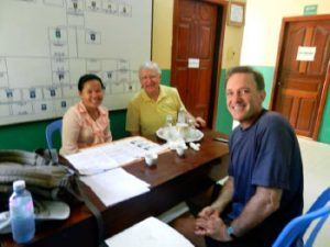Meeting with Theany, director of Future of Khmer Children.