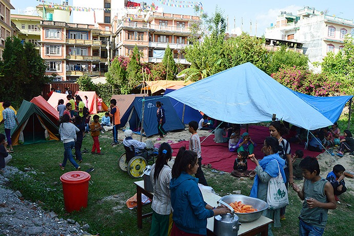 Medical Teams International provides relief in Nepal
