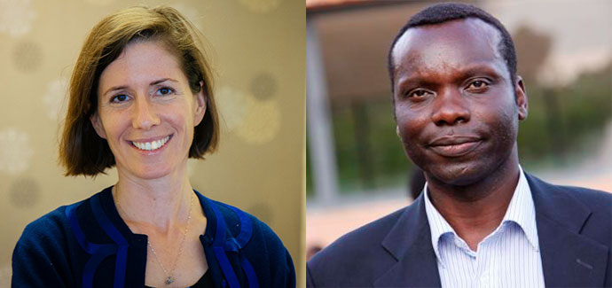 Calvin Echodu, Founder and Board Vice-Chair, and Dorothy Echodu, Chief Executive Officer, Pilgrim Africa