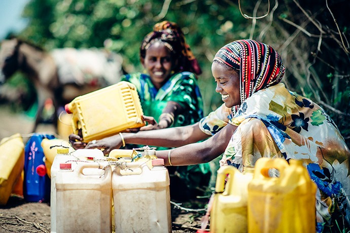 Mercy Corps has helped women in the small village of Jijiga, Ethiopia begin processing milk locally. It is now a higher quality, improving incomes for pastoralists and their families.