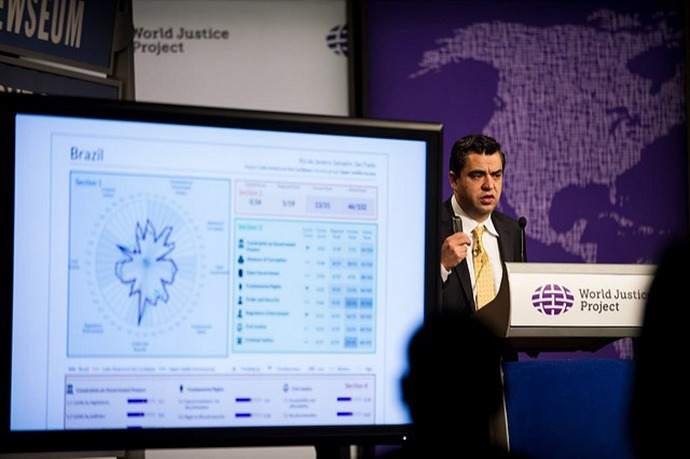 WJP Chief Research Officer Alejandro Ponce provides highlights of the Rule of Law Index results, measuring how well countries adhere to their own laws.