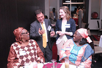 WJP convenes diverse leaders in Senegal to examine Senegal's scores in the WJP Rule of Law Index.