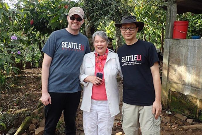 Seattle University faculty advisors.