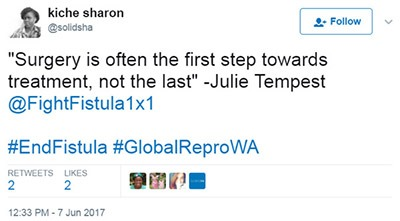 Twitter post Sharon