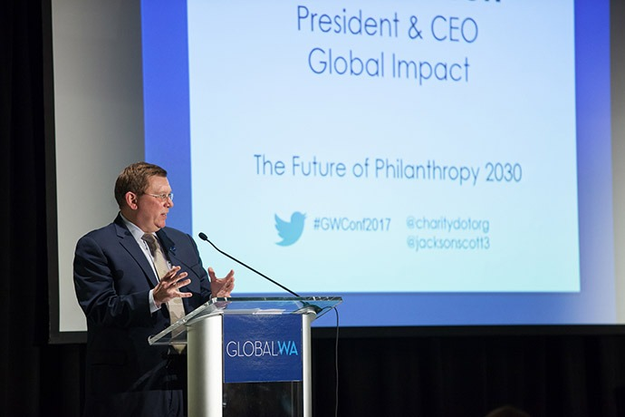 Scott Jackson, CEO of Global Impact.