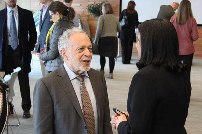 Robert Reich speaks with Meena Rishi, PhD.