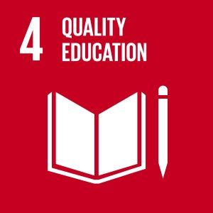 Icon of Sustainable Development Goal 4 - Quality Education