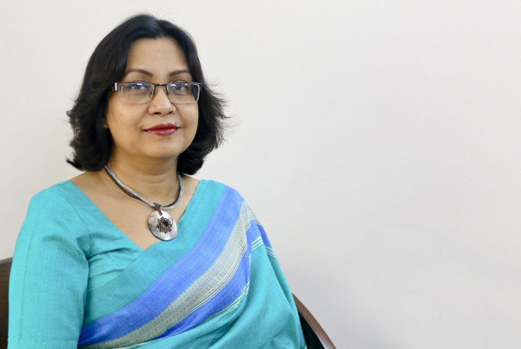 Hasin Jain, WaterAid director in Bangladesh. Photo courtesy of WaterAid.