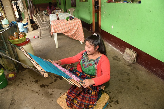 Milbia weaving