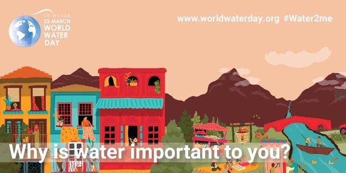 World Water Day graphic