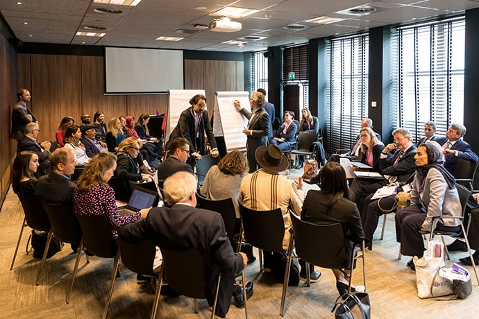 Workshop participants at WJP's 2019 World Justice Forum in The Hague