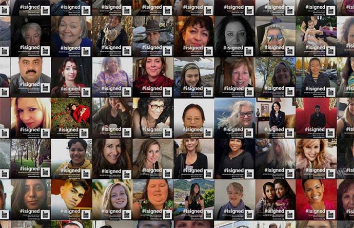 Screenshot of Every Woman Treaty website
