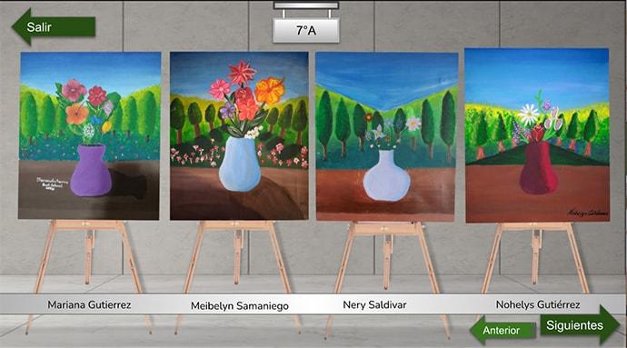Badi School virtual art gallery