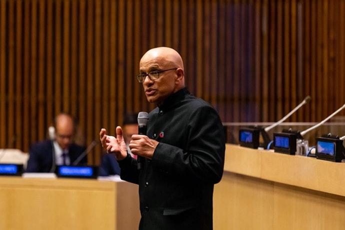 Atul at United Nations