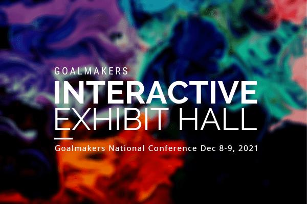 Interactive exhibit hall graphic