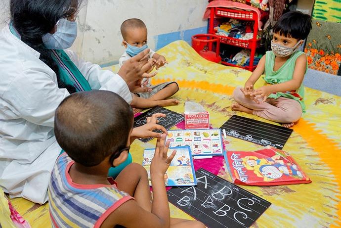 Bring School to Home program
