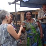widows coop in Goma raising poultry