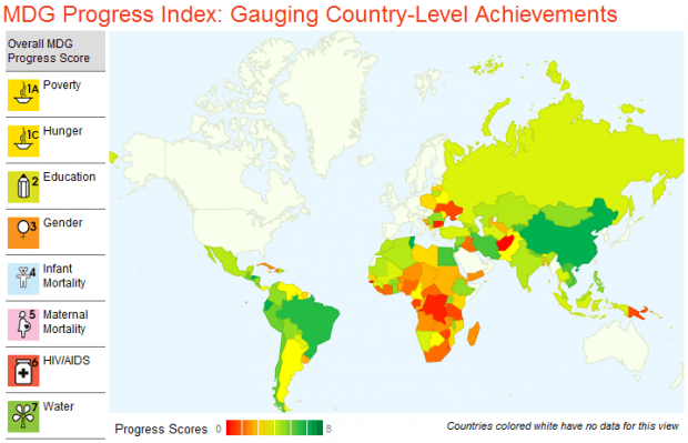 Gauge country level mdg progress with a new online interactive tool the center for global development recently released a new online interactive map tool to gauge progress towards the millennium development goals mdgs at gumiabroncs Image collections