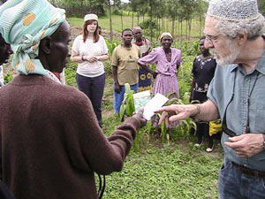 Allan Paulson Giving Seeds
