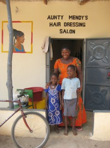 Ymicro loan recipient in The Gambia