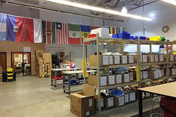 Medical Teams International supplies.