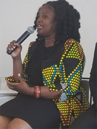 Rufaro Kangai, director of programs, Global Fund for Women