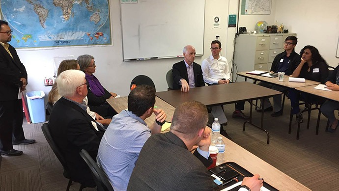 Congressman Adam Smith Meets with the Global Development Community in the State of Washington