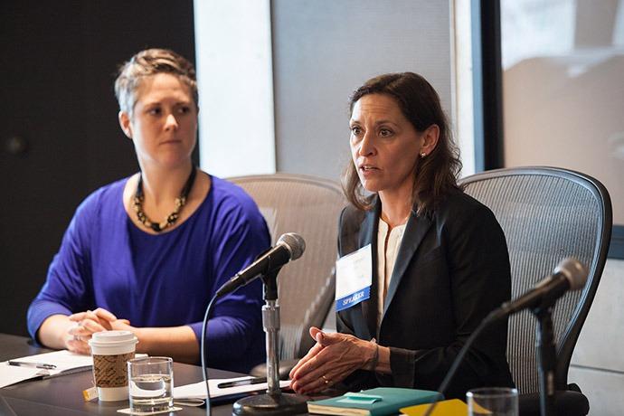 Erin Stuckey Bill and Melinda Gates Foundation) and Sumi Paranjape Vulcan